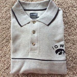 NWT Iowa Hawkeye Polo Shirt